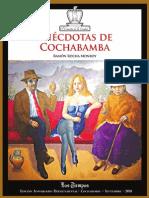 Anécdotas de cochabamba