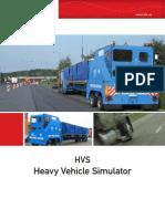 Heavy Vehicle Simulator, HVS
