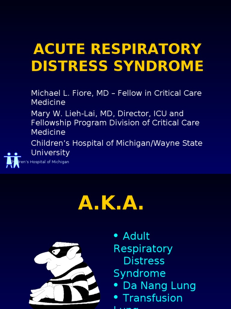 ARDS Lecture | Respiration | Pulmonology