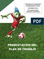 Plan de Trabajo Propuesto Alberto Ramos Solis