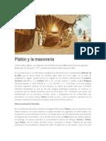 Platón y La Masonería