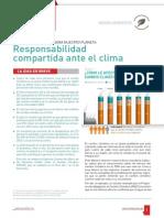 Responsabilidad compartida ante el clima