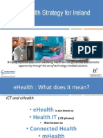 An EHealth Strategy for Ireland