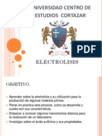 111  electrolisis