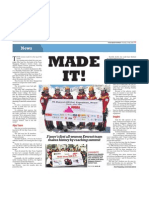 Singapore's all-women team successfully reached summit of Mt Everest, 21 May 2009, The New Paper