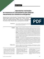 resistencia microbiologica