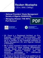Professionalism in Waste Mgt