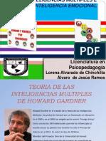 Inteligencias Multiples (GADNER Y GOLEMAN)