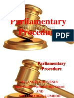parliamentaryprocedure-120314215849-phpapp01
