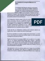 Documentación probatoria de corrupción en Misicuni