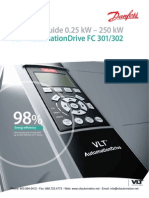 Danfoss Automation Drive FC-302 Selection