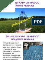 Agua Purificada Un Negocio Altamente Rentable