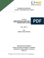 fundamentod de mercadeo Trabajofinal Unidad1 100504 Grupo1 7