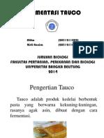 FERMENTASI TAUCO