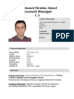 Marwan CV Account Manager