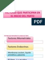 Factores Que Participan en El Inicio Del Parto Mio
