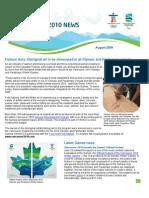 2010 Olympic International Newsletter