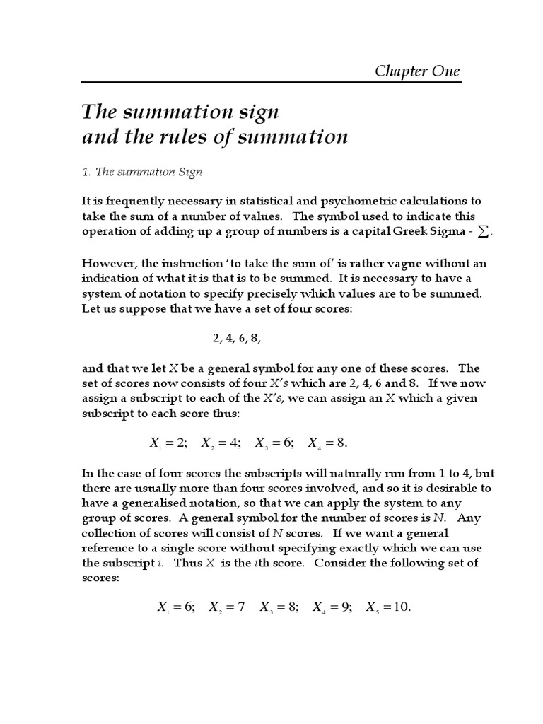 Summation notation symbol gallery symbols and meanings summation signs summation mathematical notation biocorpaavc buycottarizona Choice Image