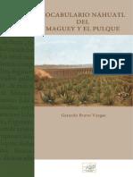 Gerardo Bravo Vargas - Vocabulario Náhuatl del Maguey y el Pulque