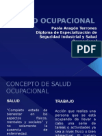 Salud Ocupacional Curso Virtual