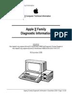 Apple II Diagnostic Info
