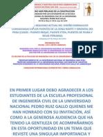 Conferencia Sobre Foro Constrruccion Mayo 2014 Unprg