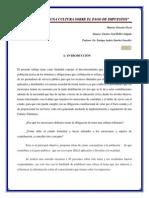 Como Crear Una Cultura Del Pago de Impuestos Derecho Fiscal Mexico