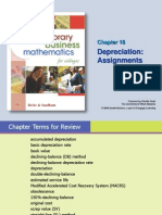 PBP II Chapter 18 Depreciation