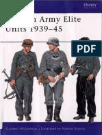 Men at Arms 380 - German Army Elite Units 1939-45