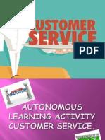 Autonomous Larning Activity Customer Service Kills