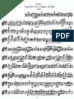 brhams sonata  violin