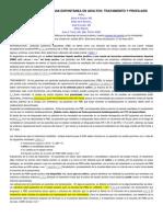 La Peritonitis Bacteriana Espontánea en Adultos Tratamiento y Profilaxis