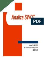 Prezentare Analiza SWOT