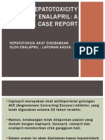 Acute Hepatotoxicity Caused by Enalapril