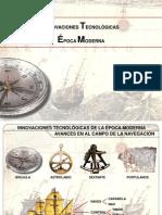Innovaciones Tecnolgicas-exploraciones Siglo Xvi