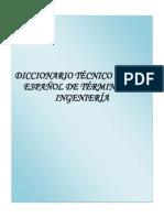 112242134 88948657 Diccionario Tecnico Ingles Espanol