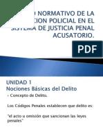 Sistema Penal Acusatorio Adversarial (Juicios Orales)
