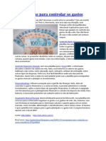 Intranet - GSI - Artigos - 4 Programas Para Controlar Os Gastos