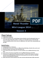Naval Thunder Mini-League 2014 S2