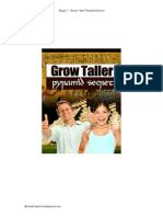 The Grow Taller Pyramid Secret - Stage 1