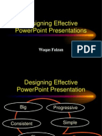 How to Design Visual Aides for a Presnattion