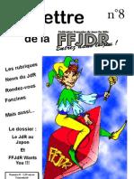 La Lettre de la FFJdR n.8 (nouvelle formule) - avril 2003