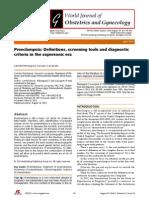 Preeclampsia Eco Era 2014