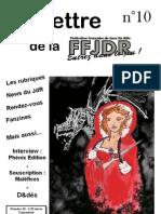 La Lettre de la FFJdR n.10 (nouvelle formule) - septembre 2003