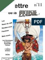 La Lettre de la FFJdR n.11 (nouvelle formule) - janvier 2004