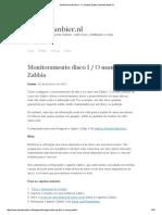 Monitoramento Disco I/O Usando Zabbix