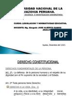 Derechos Fundamentales de La Persona.