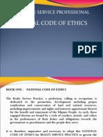 Code of Ethics - Real Estate Broker