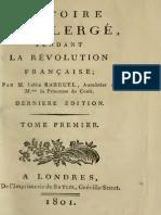 Barruel Augustin - Histoire du clerge pendant la Revolution francaise 1.pdf