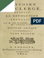 Barruel Augustin - Histoire du clerge pendant la Revolution francaise 2.pdf